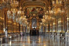 Opéra garnier, intérieur