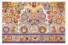 Slovak embroidery - oooooooh! Colors!