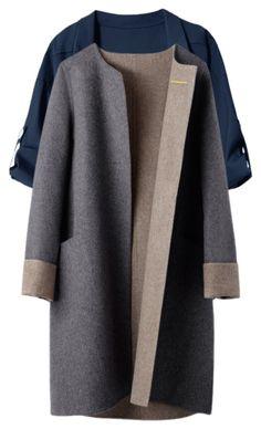 The Italian Wool Cashmere Coat Cuyana Cashmere Coat, Outerwear Women, Fashion Outfits, Womens Fashion, Winter Coat, Coats For Women, Winter Fashion, Stylish, How To Wear