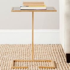 Safavieh Neil Accent Table - Gold - FOX2528