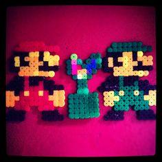 Super Mario melting beads #Nintendo #Mario