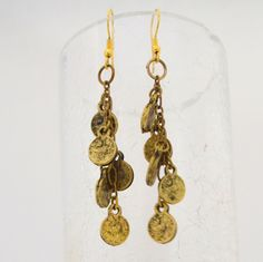 ACTUALLY vintage coin earrings...love em!! Fair Trade Clothing, Drop Earrings, How To Make, Handmade, Vintage, Beautiful, Jewelry, Women, Fashion