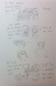 Sasusaku | That's one way to use your skills Ino xD
