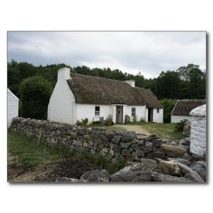 Irish Farm Post Card