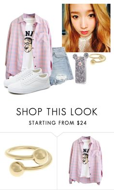 """""""Aquarium Date with Minseok"""" by rubydna ❤ liked on Polyvore featuring J.W. Anderson and Vans"""