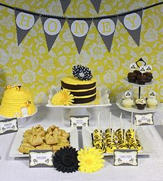 "Photo 1 of 8: Honey Bee / Baby Shower/Sip & See ""Honey Bee Sip & See"" 