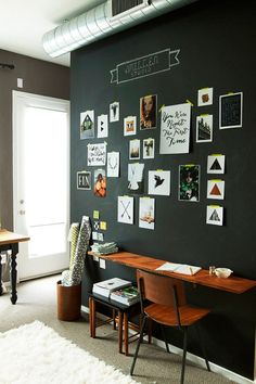 The Power of a Painting Project: Bold & Beautiful Black Walls