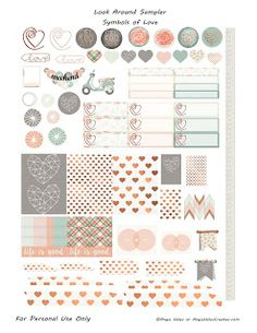 Hey There,You picked a great day to visit if you're in the market for some freebies! For the past several weeks I've been sharing my layouts with the following sticker embellishments. …