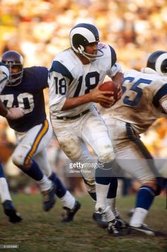 d7e57a2a29f Los Angeles Rams quarterback Roman Gabriel drops back to pass in 23-20 loss  to