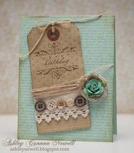 love this tag card by Ashley Newell