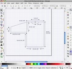 how to use inkscape free shareware to make schematics.
