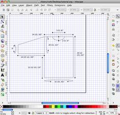 how to use inkscape free shareware to make schematics.