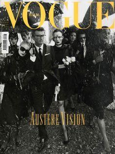 Vogue Italia - Vogue Italia August 2008 Cover