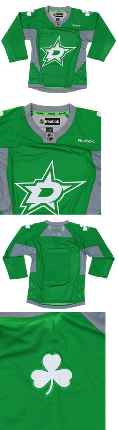 Tops Shirts and T-Shirts 175521: Reebok Nhl Youth Boys Dallas Stars St. Patricks Day Team Replica Jersey - Green -> BUY IT NOW ONLY: $39.95 on eBay!