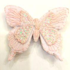 Handmade butterfly hair clip