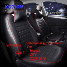 11 Colors Tailor Made Car Seat Cover For Honda CITY(2008 2016)