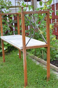 Fineste benken i hagen!