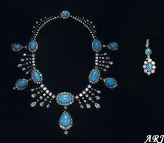 Artemisia's Royal Jewels: Focus on... Camilla's Jewels: Turquoise Demi-Parure