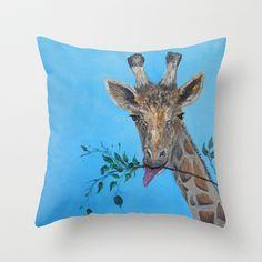 VEGAN Throw Pillow by  RokinRonda - $20.00