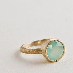 This Betty Carre designed stackable ring reminds me of summer! The best part is that they are only $48 each! Via http://dillydallas.blogspot.com/