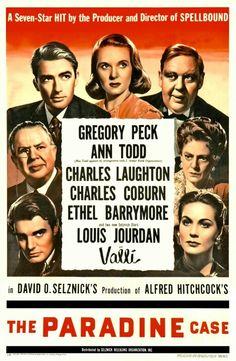 The Paradine Case - een Amerikaanse legal thriller-film uit 1947, geregisseerd door Alfred Hitchcock