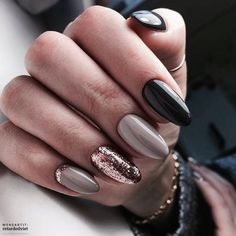 Trendy Manicure Ideas In Fall Nail Colors;Purple Nails; Fall Nai… Trendy Manicure Ideas In Fall Nail Colors;Purple Nails; Gorgeous Nails, Love Nails, How To Do Nails, Amazing Nails, Party Nail Design, Gel Nagel Design, Nagellack Trends, Party Nails, Best Nail Art Designs