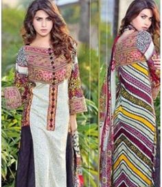 Karam Embroidered  Lawn Suits Collection 791_A