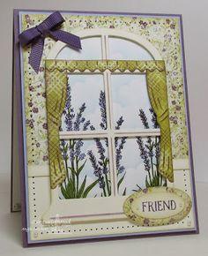 ODBD Lavender, ODBD Custom Window Die Set, Card Designer Angie Crockett
