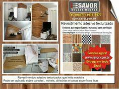 Decoração sem sujeira, confira www.savor.com.br
