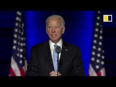 LIVE: Joe Biden's first speech as US president-elect - YouTube