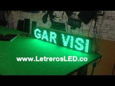 Pasamensajes Outdoor 16x96. Soporta Lluvia y Sol. Alta Luminosidad. - Letreros LED, Avisos LED, Pantallas LED Programables. Colombia - www.LetrerosLED.co