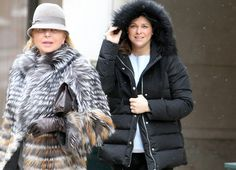 Princess Madeleine and Christopher O'Neill in New York with daughter Leonore and Christopher's mother, Eva O'Neill.