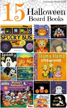 Check out our favorite 15 Halloween Board Books for Toddlers & Babies!