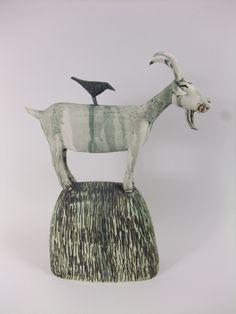 Anna Noel : Goat and Bird