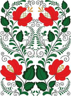 Explore high-quality, royalty-free stock images and photos by Andrea Molnar available for purchase at Shutterstock. Hungarian Embroidery, Folk Embroidery, Embroidery Patterns, Fabric Paper, Watercolor Art, Plant Leaves, Applique, Design Inspiration, Mandala