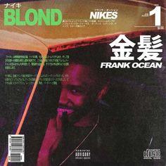 Innovative concept art for Frank Ocean's 'Nikes'. The opening track on his 2016 studio album, 'Blonde'. Cool Album Covers, Album Cover Design, Music Covers, Box Covers, Vaporwave, Frank Ocean Wallpaper, Trippy Wallpaper, Sup Girl, Blond
