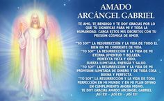 decretos y afirmaciones al arcangel san gabriel - Buscar con Google