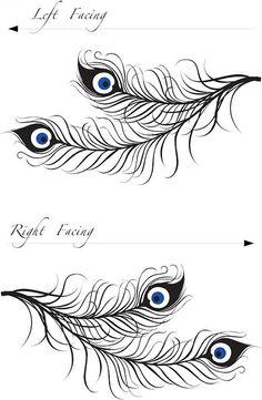 peacock+feather+wall+art+vinyl+decal.jpg 500×766 pixels