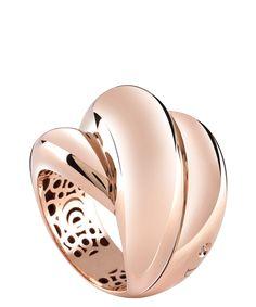 Damiani Rose Gold ring