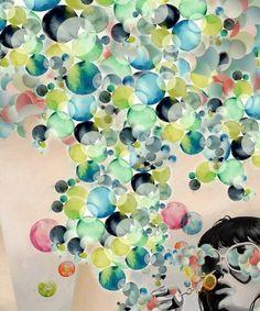 Bubble created with Bazaart by Akira Hashiguchi