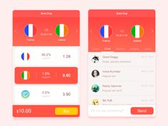 Sports Lottery designed by sola. Mobile App Design, Mobile Ui, Sports App, Ui Inspiration, Sports Betting, Apps, Game, Gaming, App