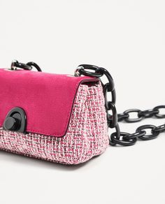CROSSBODY BAG WITH CHAIN HANDLE-View all-BAGS-WOMAN | ZARA United States