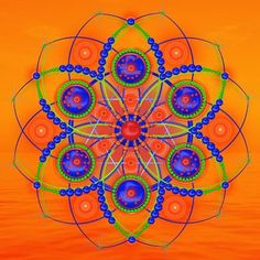 Mandalas are one of the best examples of the universal operation of the archetype. ~ Carl Jung