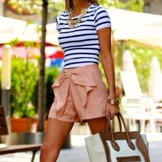 Fancy - Bow Shorts/ whole outfit
