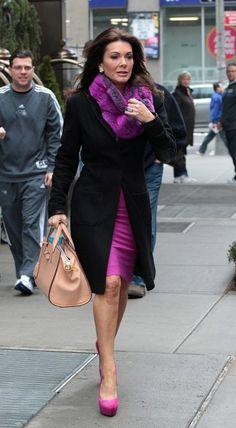 Lisa Vanderpump leaves her hotel in Soho New York.