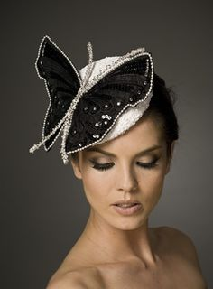Julie Anne Lucas is one of my favourite couture milliners with such attention to detail with beautiful embellishment. Julie Anne's techniqu...