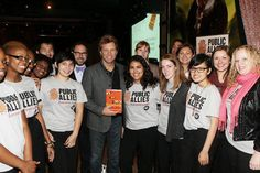 """A slideshow of Our CEO, Paul Schmitz's book tour to promote """"Everyone Leads"""""""