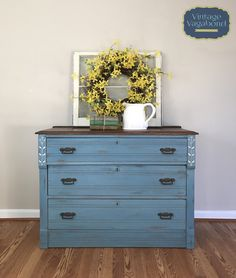 Miss Mustard Seeds, Vintage Dressers, Milk Paint, Painted Furniture, Carving, Antiques, Maryland, Spoon, Enamel