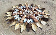 Land art mandala from Hungary by tamas kanya