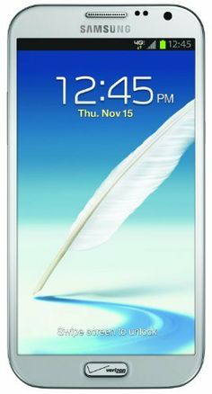 Samsung Galaxy Note II 4G Android Phone, Marble White (Verizon Wireless) by Samsung, http://www.amazon.com/dp/B00AB7FWDW/ref=cm_sw_r_pi_dp_8kQkrb18190Q9
